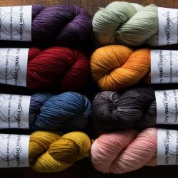 毛糸的世界|Dirty Water DyeWorks:Lilian|Topaz